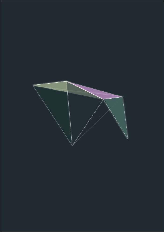 Glow Triangles